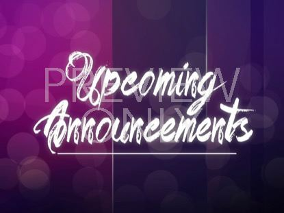 ROYAL GLASS UPCOMING ANNOUNCEMENTS STILL