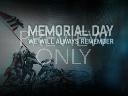 SOLDIERS MEMORIAL DAY STILL