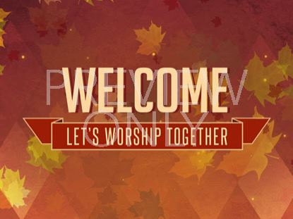 THANKSGIVING WELCOME STILL VOL3