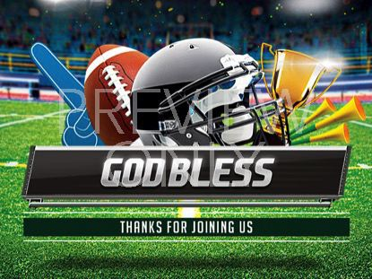 THE BIG GAME GOD BLESS