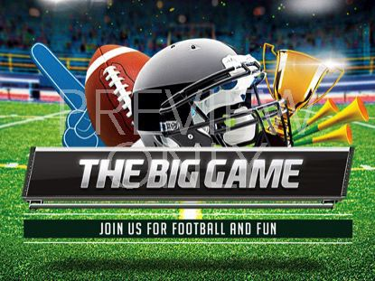 THE BIG GAME TITLE
