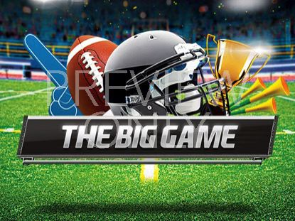 THE BIG GAME TITLE NO SUB