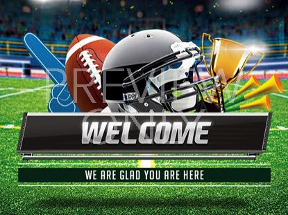 THE BIG GAME WELCOME