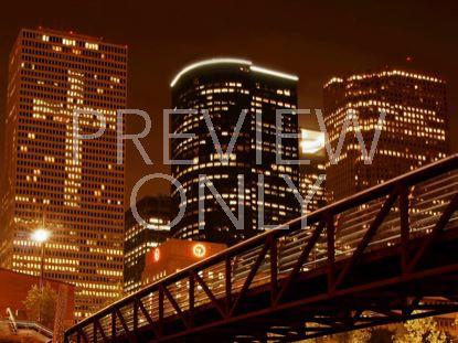 CROSS IN CITY LIGHTS