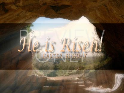 HE IS RISEN WELCOME 2