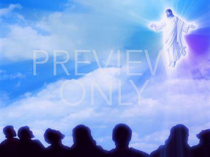 JESUS ASCENDS TO HEAVEN
