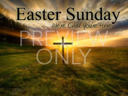WELCOME EASTER SUNDAY