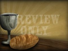 LAST SUPPER BREAD & CUP
