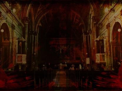 CHURCH GRUNGE PAINT
