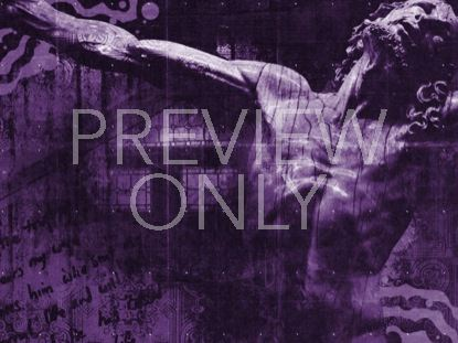 JESUS PASSION PURPLE STILL