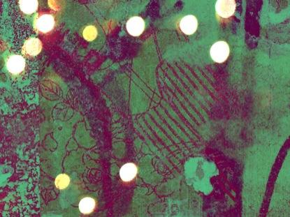 LIGHTS GRUNGE GREEN