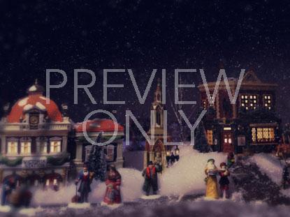 SNOWY VILLAGE 3