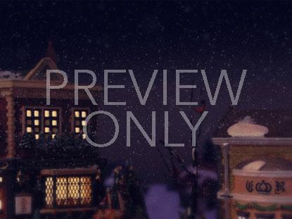 SNOWY VILLAGE 6