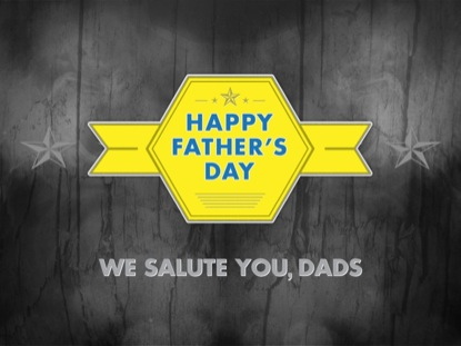 WE SALUTE YOU, DADS TITLE