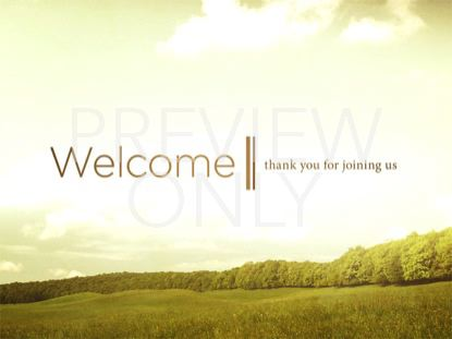 GRASSY MEADOW WELCOME STILL
