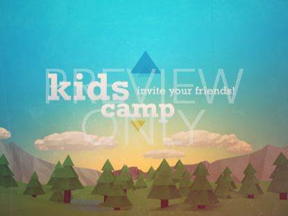 OUTDOORS KIDS CAMP STILL