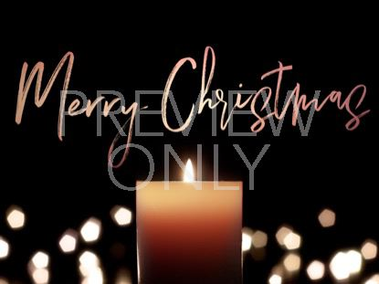 CANDLELIGHT MERRY CHRISTMAS