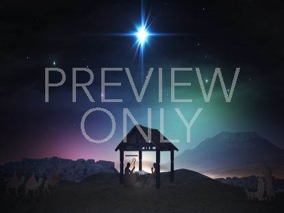 CHRISTMAS SAVIOR NATIVITY