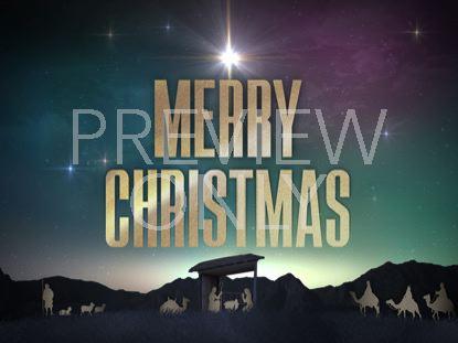 NATIVITY CHRISTMAS MERRY CHRISTMAS STILL