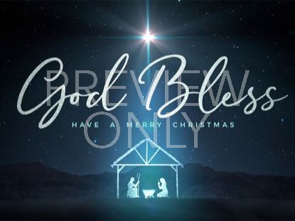 STARLIGHT NATIVITY CLOSE CHRISTMAS