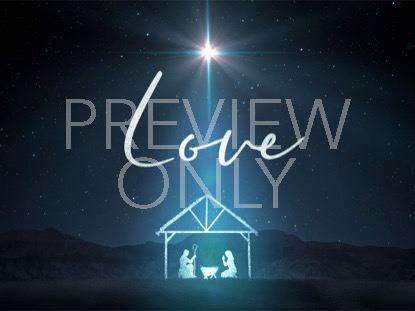 STARLIGHT NATIVITY LOVE