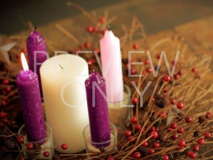 ADVENT WREATH WEEK 1