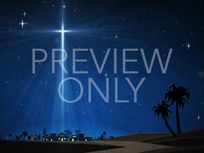 CHRISTMAS ARTWORK BETHLEHEM STAR
