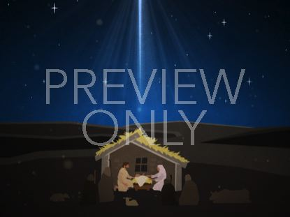 CHRISTMAS ARTWORK NATIVITY
