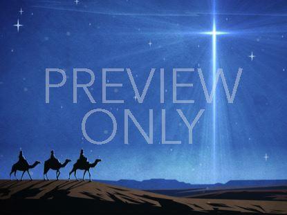 CHRISTMAS ARTWORK WISE MEN
