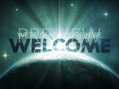 COSMIC EARTH STARS WELCOME