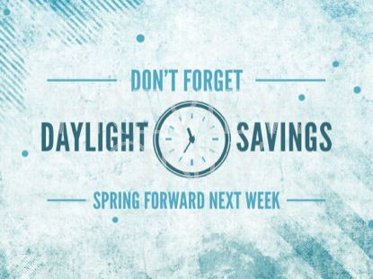 DAYLIGHT SAVINGS SPRING GRUNGE