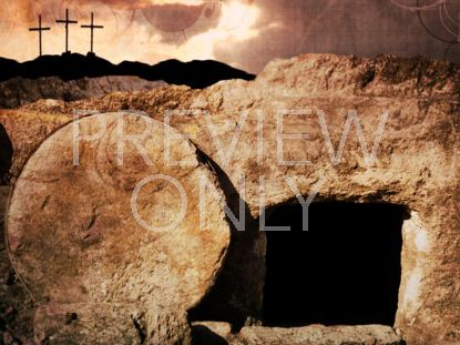 EMPTY TOMB 3 CROSSES