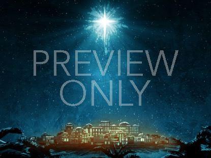 HOLY NIGHT BETHLEHEM STAR