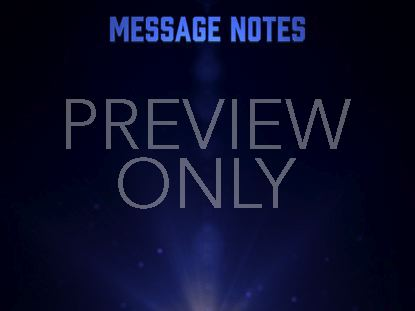 PARTICLE GLOW MESSAGE NOTES
