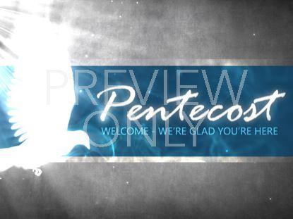 PENTECOST DOVE WELCOME