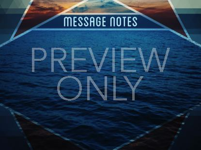 PRISM WAVES MESSAGE NOTES