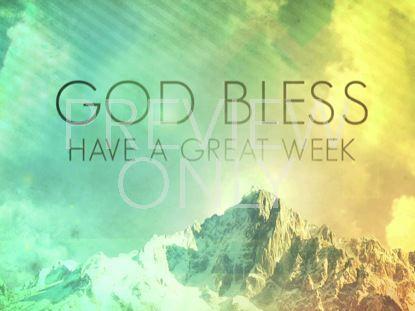 MOUNTAIN VIEW GOD BLESS