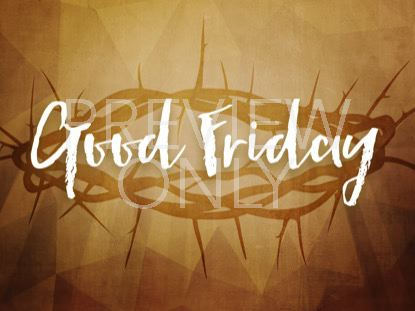 A LIFE OF SACRIFICE GOOD FRIDAY STILL