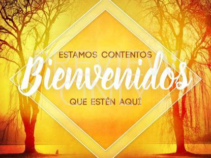 AUTUMN FOREST WELCOME STILL 1 SPANISH