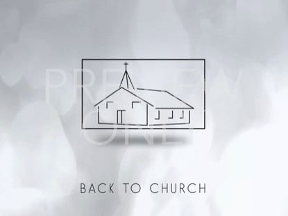 BACK TO CHURCH WHITE STILL