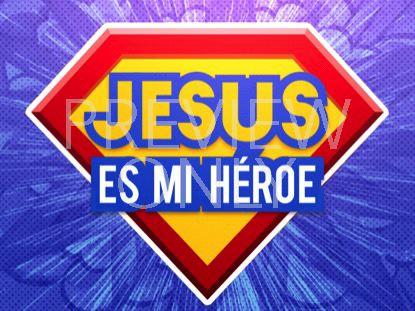 BIBLE HEROES JESUS STILL 1 - SPANISH
