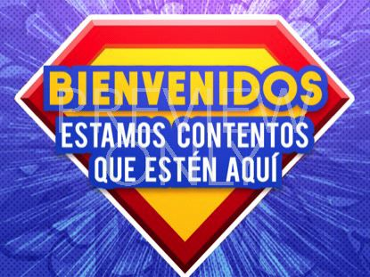 BIBLE HEROES WELCOME STILL 1 - SPANISH