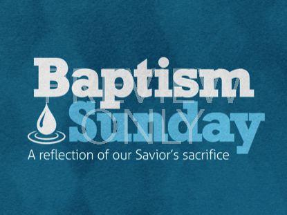 BOLD IMPRESSIONS BAPTISM STILL