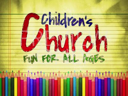 COLOR PENCILS CHILDRENS CHURCH STILL