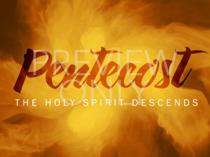 CONSECRATED SPIRIT PENTECOST STILL