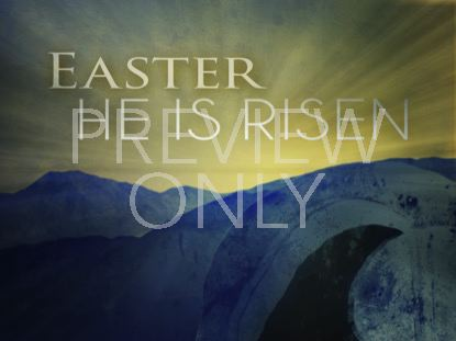 EASTER OPEN TOMB EASTER WELCOME