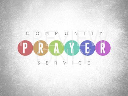 EVENT PLANNER PRAYER STILL
