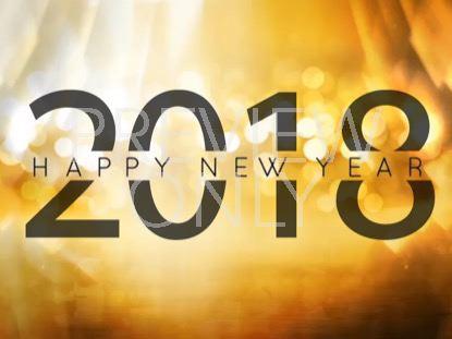 GOLDEN NEW YEAR 2018 STILL