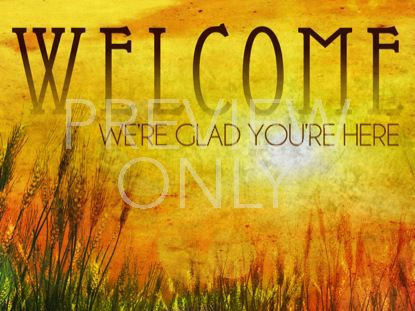 GOLDEN SUN WELCOME STILL