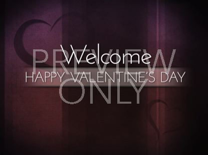 LIGHTHEARTED VALENTINE'S WELCOME